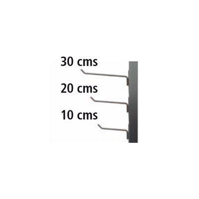 Colgadores de 10, 20 y 30 cms