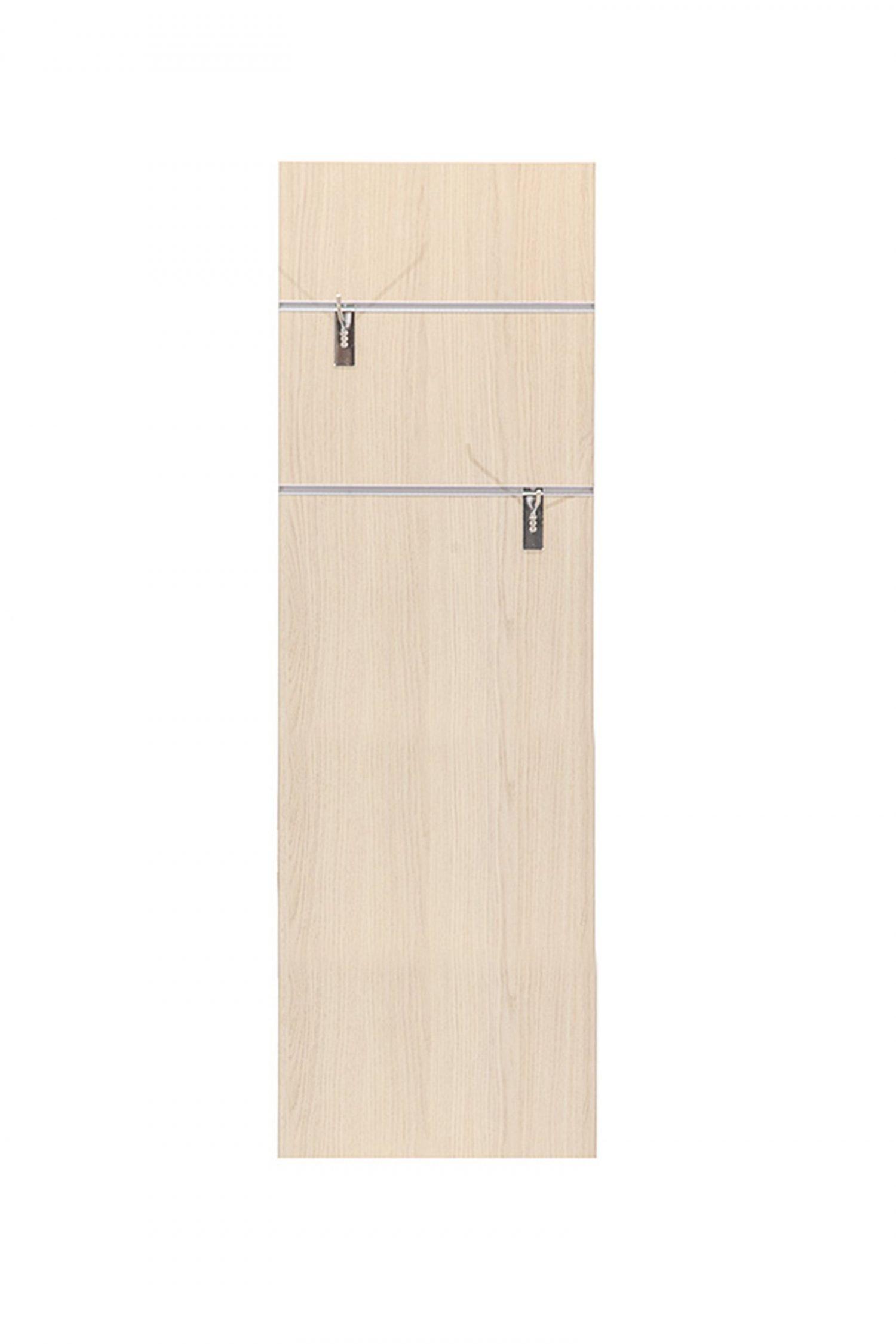 Trasera : Se compone de tablero vertical con guías y 2 colgadores móviles. Compatible para cubo Zócalo Cerrado y Multi